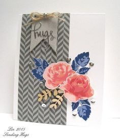 We love the pretty colors and the beautiful arrangement of the elements in this card. Great work, Lin! www.altenew.com