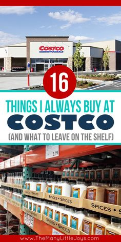 Are you a Costco shopper? The key to buying in bulk is knowing what's really a good deal, and what's not. Here are the best deals at Costco...and what to leave on the shelf.