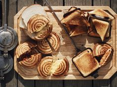 Camping Sandwiches Recipe : Guy Fieri : Food Network - FoodNetwork.com