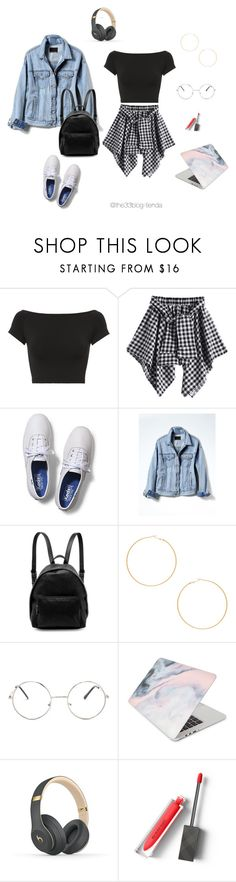 """""""ootd35"""" by jeniffercrystel on Polyvore featuring moda, Helmut Lang, Keds, Banana Republic, STELLA McCARTNEY, 8 Other Reasons, Nasty Gal, Recover, Beats by Dr. Dre y Burberry"""