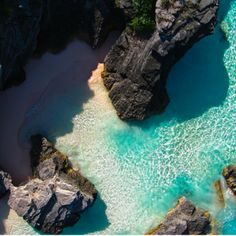 I want my own private cove :)