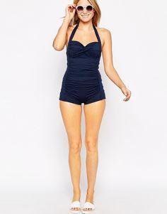 Image 4 ofSeafolly Malliot Boyleg Swimsuit