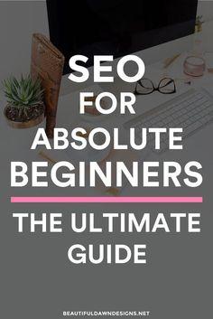 SEO for beginners. Beginners SEO tips. SEO for bloggers.