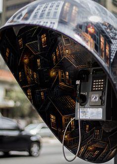 Phone Booths in São Paulo