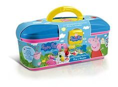 Product Description Have fun and get creative with the Peppa Pig Dough Activity Case - the case comes with lots of different doughing accessories so you can get Princess Birthday Party Decorations, 7th Birthday Party Ideas, Play Doh, Kitty Play, Pig Ice Cream, Peppa Pig House, Ryder Paw Patrol, Picnic Activities, Barbie Toys