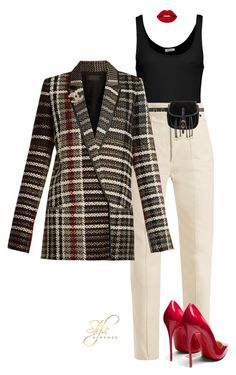 """""""Untitled #501"""" by sherristylz on Polyvore featuring American Vintage, Isabel Marant, Prada, Haider Ackermann, Christian Louboutin, Chanel and Lime Crime"""