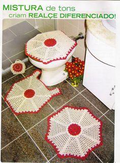 Jogos de Banheiro croche dvs - Tathiana - Picasa Web Albums