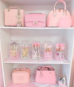 Room Ideas Bedroom, Bedroom Decor, Baby Pink Aesthetic, Luxury Purses, Glam Room, Cute Room Decor, Pink Room, Everything Pink, Pink Wallpaper