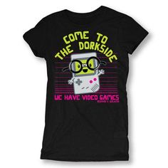 Come To The Dork Side Womens T-shirt
