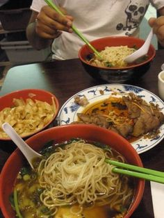 Nan Zhou Hand Drawn Noodle House in Chinatown, Philadelphia - the best hand drawn noodles!