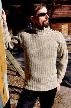 Men Sweater, Turtle Neck, Knitting, Sweaters, Fashion, Breien, Moda, Tricot, Fashion Styles