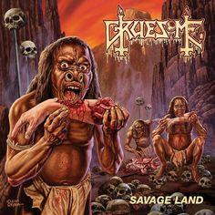 "MUSIC EXTREME: DEATH METAL SUPERGROUP GRUESOME RELEASES ""SAVAGE L... #gruesome #possessed #exhumed #malevolentcreation #derketa #deathmetal #metal"