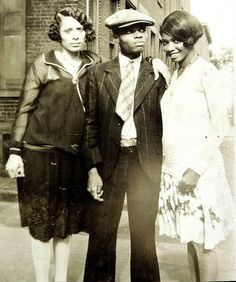 Man And Women Harlem Style, 1920's