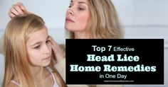 Head lice problem? Discover here how to remove head lice with this 7 effective head lice home remedies in on day with little or no side effects.Learn more..
