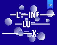 Ознакомьтесь с этим проектом @Behance: «L'Influx - Brand design» https://www.behance.net/gallery/44987129/LInflux-Brand-design