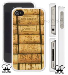 Vintage Cork Wine Phone Case  This case design is made for iPhone 4,4s iPhone 5,5s Samsung Galaxy S 3, 4 Samsung Galaxy Note2,3