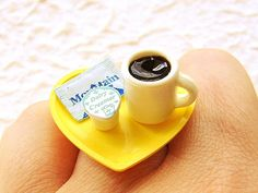 Coffee Miniature Food Ring