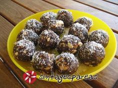 Protein Desserts, Greek Desserts, Healthy Sweets, Truffles, Recipies, Muffin, Food And Drink, Easter, Breakfast