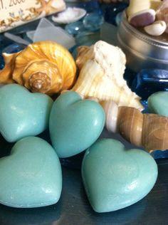 Oceane Heart Soap for Favors by ourdesigner on Etsy, $17.00
