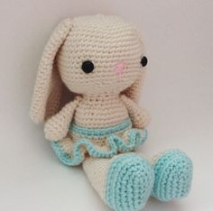 Handmade bunny doll. Perfect gift or toy for your little one. Etsy shop: DiorLauryn