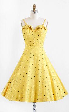 Dress1950sRococo Vintage