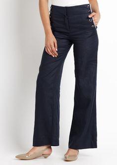 Lightweight Linen sailor pant