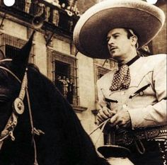 PEDRO INFANTE JORGE NEGRETE PRINT POSTER SIZE MEXICAN MOVIES CHARRO MEXICO B