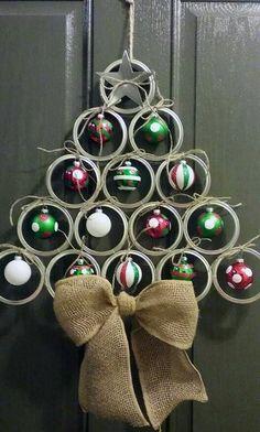 Come riciclare i TAPPI Dei Barattoli per Natale - Riciclo creativo