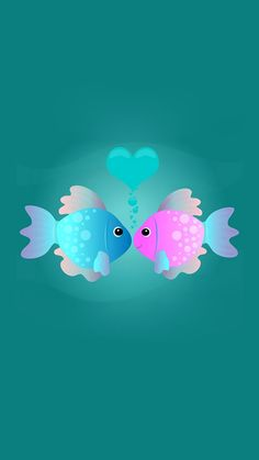 Illustration about Two cartoon fish kissing in an underwater scene with love theme. Illustration of holiday, crafts, graphic - 4036167 Fish Wallpaper, Phone Screen Wallpaper, Heart Wallpaper, Butterfly Wallpaper, Animal Wallpaper, Love Wallpaper, Cellphone Wallpaper, Wallpaper Backgrounds, Iphone Wallpaper