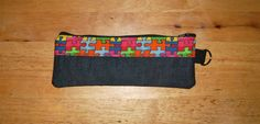 Zipper Pencil Pouch by Ecilo on Etsy