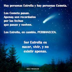 Estrella o cometa?