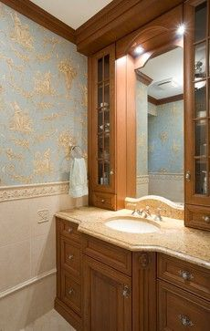 Custom Bathroom Vanities Nyc bathroom floor: porcelain wood grain tile. custom built in vanity