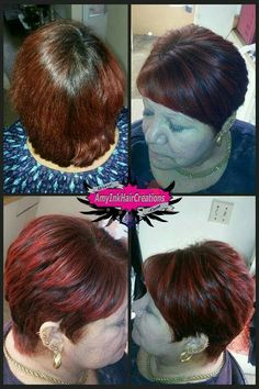 Cut, color and blower/Corte, color y blower