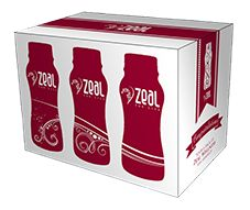 Try Zeal Now! Get a sample pack of 6 single serving bottles of Zeal Wellness in our 3 flavors (2 Wild Berry, 2 Bold Grape, 2 Tropic Dream)
