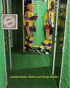 Kufenschutz auf allen Gängen durch den Bergo Multisport Sportbelag