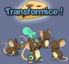 Yay! Trans for mice(transformice)!