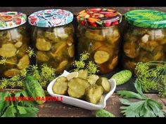 OGÓRECZKI CHILI DO WÓDECZKI - YouTube Pickles, Cucumber, Chili, Salsa, Jar, Youtube, Chile, Salsa Music, Pickle
