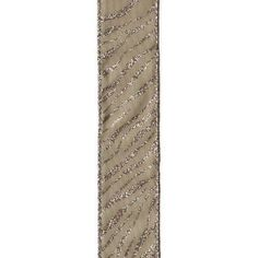 A ten yard roll of Taupe Linen Ribbon that features a Glitter Tiger Stripe pattern. Great for indoor and outdoor projects. Use for any creative or decorative venture you can think of; Multi-functional & multi-useful. Wreath Supplies, Wreath Forms, Tiger Stripes, Wired Ribbon, Unique Home Decor, Taupe, Christmas Decorations, Glitter, Stripe Pattern