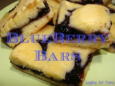 Juggling Act: Easy Blueberry Bars