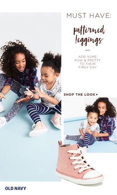 Summer may be over but your littles can still bring that season's fun-loving spirit to their school outfits. Our printed leggings for girls add a mega-wallop of color and pattern. They also come in long and capri lengths — to vary according to the weather. Pair them with solid color tops to make the leggings pop or add to the print-mixing theme with an equally strong patterned blouse.