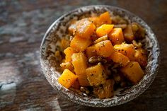 Butternut Squash with Walnuts and Vanilla - something new to try