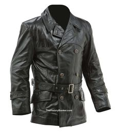 WW1 Imperial German Fighter Pilots leather jacket