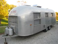 Vintage Airstream Awning Parts
