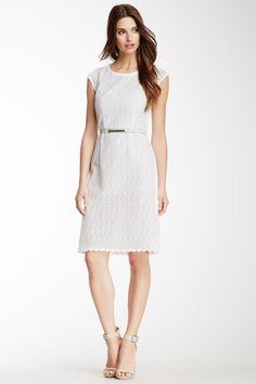 Magaschoni | Magaschoni Little Floral Eyelet Dress | Nordstrom Rack $100.69