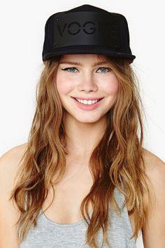 Vogue Cap - Black