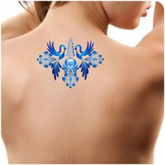 Hey, I found this really awesome Etsy listing at https://www.etsy.com/listing/225757292/temporary-tattoo-1-peacock-tattoo-ultra