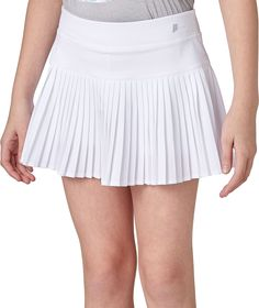 Prince Girl, White Pleated Skirt, Tennis Skort, Gal Gadot, Mini Skirts, How To Wear, Outfits, Clothes, Tennis Wear