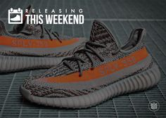 """It's Friday which means we're back with our latest Sneakers Releasing This Weekend installment. While the adidas Yeezy Boost 350 V2 """"Solar Red"""" will undoubtedly be the main draw this weekend, there's still plenty of backups for you incase you … Continue reading →"""