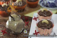 #BomDia! Bora preparar uns deliciosos Cupcakes de Banana Diet, #SemGlúten e #SemLactose para o café da manhã?  #Receita aqui: http://www.gulosoesaudavel.com.br/2014/05/07/cupcakes-banana-diet-sem-gluten-sem-lactose/