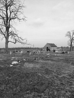Old cemetery in Indiana